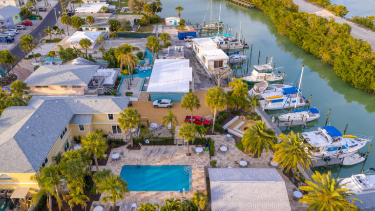 Waterway Venice Resorts dockslips