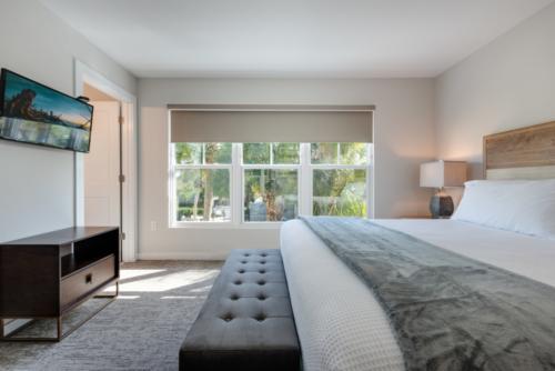 Master bedroom villa rental