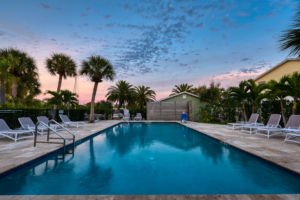 Nokomis Resort amenities - Escape Pool