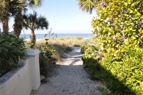 escape resort beach access