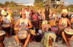 Nokomis drum circle located near Escape